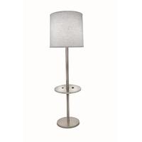 Stiffel TRFL-A1005-SN Ellie 60 inch 150.00 watt Satin Nickel/Opal Acrylic Table Lamp Portable Light