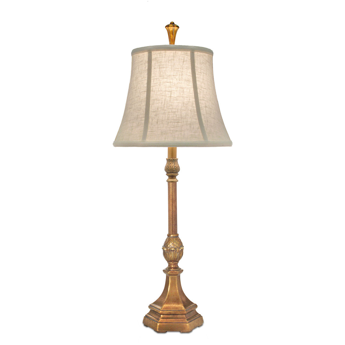 Stiffel lamps bl 6736 k9019 phb signature table lamp polished honey brass