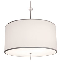 Brushed Nickel Acrylic Athens Pendants