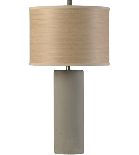 StyleCraft Home Collection BK314761DS Berkley Woods 30 inch 150 watt Gray Table Lamp Portable Light photo thumbnail