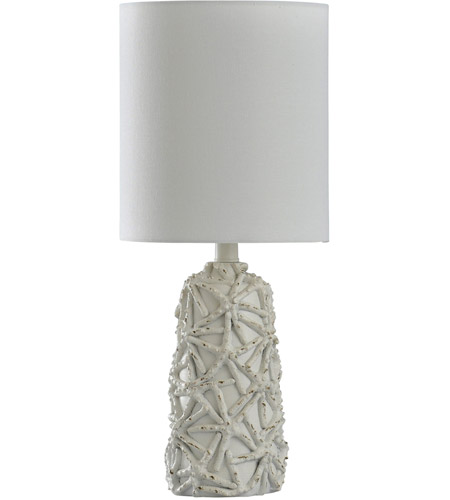 StyleCraft Home Collection L14272DS Signature 21 inch 60 watt White Table Lamp Portable Light photo