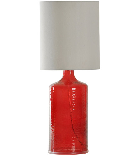 StyleCraft Home Collection Red Table Lamps