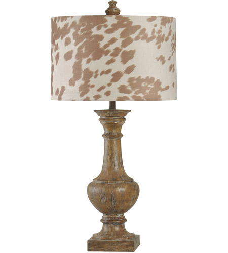 Cotton Wood Table Lamps