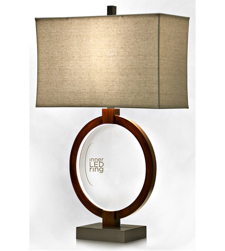 StyleCraft Home Collection L311589DS Signature 31 inch 100 watt Rust Table Lamp Portable Light photo thumbnail