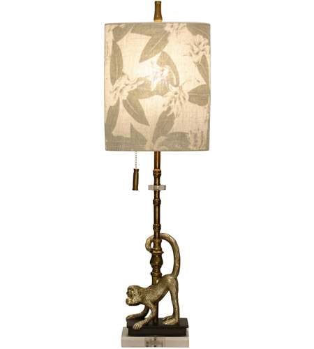 StyleCraft Home Collection L312354DS Signature 34 inch 60 watt Gold Table Lamp Portable Light photo thumbnail