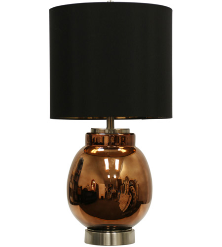 Brown Steel Table Lamps