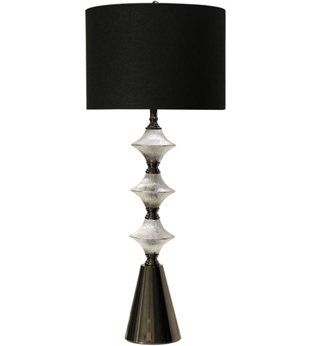 Chrome or Silver Table Lamps