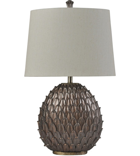 StyleCraft Home Collection L315458DS Surrey 32 inch 150 watt Bronze and Weathered Brass Table Lamp Portable Light photo thumbnail