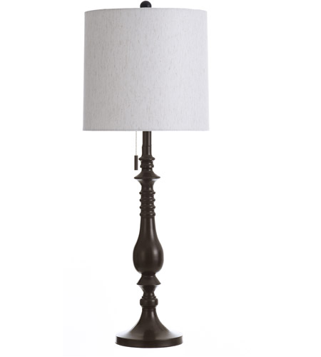 Rubbed Bronze Table Lamps