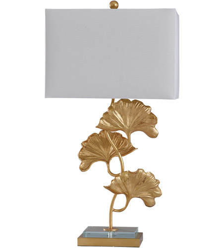StyleCraft Home Collection L317960DS Buckingham 32 inch 100 watt Clear and Gold Table Lamp Portable Light photo thumbnail
