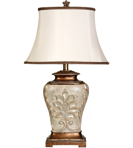 Antique White Gold Table Lamps