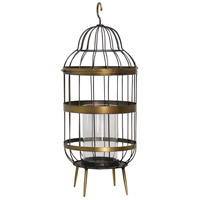 Caged Flame 25 inch Candle Holder