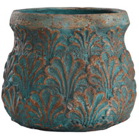 StyleCraft Home Collection AC51116DS Tenbury Turquoise Concrete Accessory