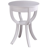 StyleCraft Home Collection AF16796ADS Archer Ridge 27 X 20 inch White Side Table