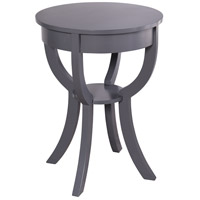 StyleCraft Home Collection AF16796BDS Archer Ridge 27 X 20 inch Grey Side Table