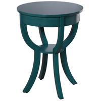 StyleCraft Home Collection AF16796CDS Archer Ridge 27 X 20 inch Turquoise Side Table