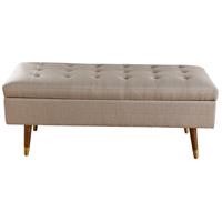 Roxie Rose Espresso and Dark Grey Bench