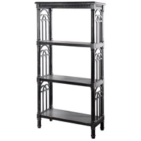 StyleCraft Home Collection AF42534ADS Church St. Black Bookcase