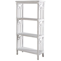 StyleCraft Home Collection AF42534DS Church St. White Bookcase