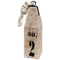 StyleCraft Home Collection AI51114DS Signature White Wash and White Buoy