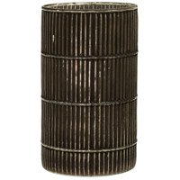 StyleCraft Home Collection AI71110DS Signature Black Grout Glass Cylinder