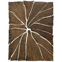 Frame Fracture Brown Wall Sculpture