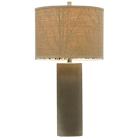 StyleCraft Home Collection BK314761DS Berkley Woods 30 inch 150 watt Gray Table Lamp Portable Light alternative photo thumbnail