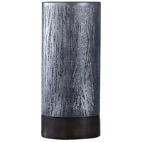 StyleCraft Home Collection BK516408DS Signature 24 inch 60 watt Black Nickel Table Lamp Portable Light