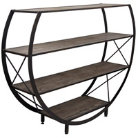 StyleCraft Home Collection BKF2001DS Signature Santa Monica Bookcase