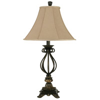 StyleCraft Home Collection BP4800DS Signature 33 inch 150 watt Mexico Bronze Table Lamp Portable Light