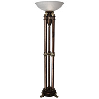 StyleCraft Home Collection CF2097DS Signature 72 inch 150 watt Majestic Gold Floor Lamp Portable Light