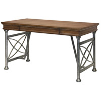 Signature 54 X 28 inch Pewter Metal Color Desk