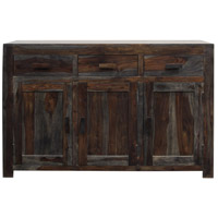 Signature 51 X 16 inch Grey and Natural Brown Sideboard