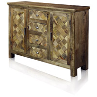 Signature 47 X 15 inch Natural Honey Sideboard
