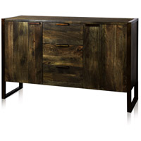Signature 56 X 18 inch Distressed Olive Sideboard