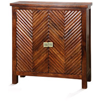 Signature Red Mahogany Cabinet