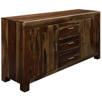 Signature 63 X 17 inch Natural Wood Credenza