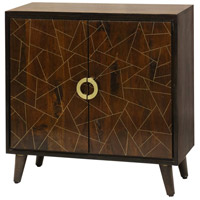 Signature Rich Brown Cabinet