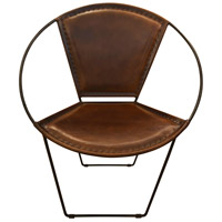 Signature Black and Brown Lounge Chair