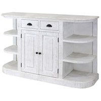 Ayden White Wash and Black Cabinet