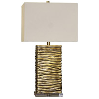 StyleCraft Home Collection JS6512DS Signature 3 inch 100 watt Gold Table Lamp Portable Light