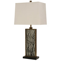 Brown Steel Signature Table Lamps