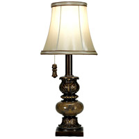 Signature 19 inch 40 watt Trieste Marble Table Lamp Portable Light