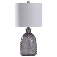 StyleCraft Home Collection L10161ADS Signature 24 inch 100 watt Smoke Gray Table Lamp Portable Light