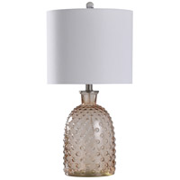 StyleCraft Home Collection L10161DS Signature 24 inch 100 watt Amber Dusk Table Lamp Portable Light