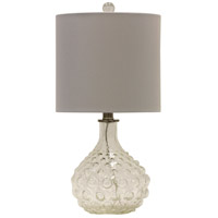 StyleCraft Home Collection L10163DS Signature 2 inch 60 watt Clear Table Lamp Portable Light
