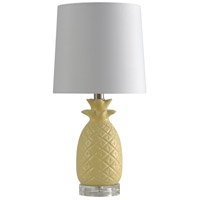 StyleCraft Home Collection L10176BDS Signature 18 inch 100 watt Yellow Table Lamp Portable Light
