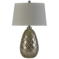 StyleCraft Home Collection L10249XDS Signature 27 inch 150 watt Mercury and Silver Table Lamp Portable Light