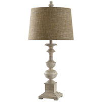 StyleCraft Home Collection L10273DS Cromwell 31 inch 150 watt Distressed Off White Cream Table Lamp Portable Light