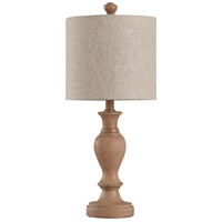 Taupe Fabric Table Lamps